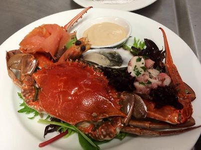Love the Blue Manna Crabs and Redmanna Waterfront Restaurant have presented it to perfection.
