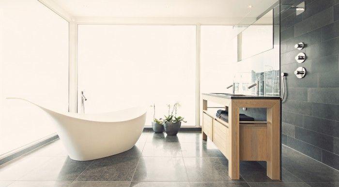 Meer dan 1000 idee n over kleine badkamer verbouwing op pinterest kleine badkamer makeovers - Kamer klein bad ...