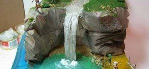 How to Make a diorama waterfall « Novelty