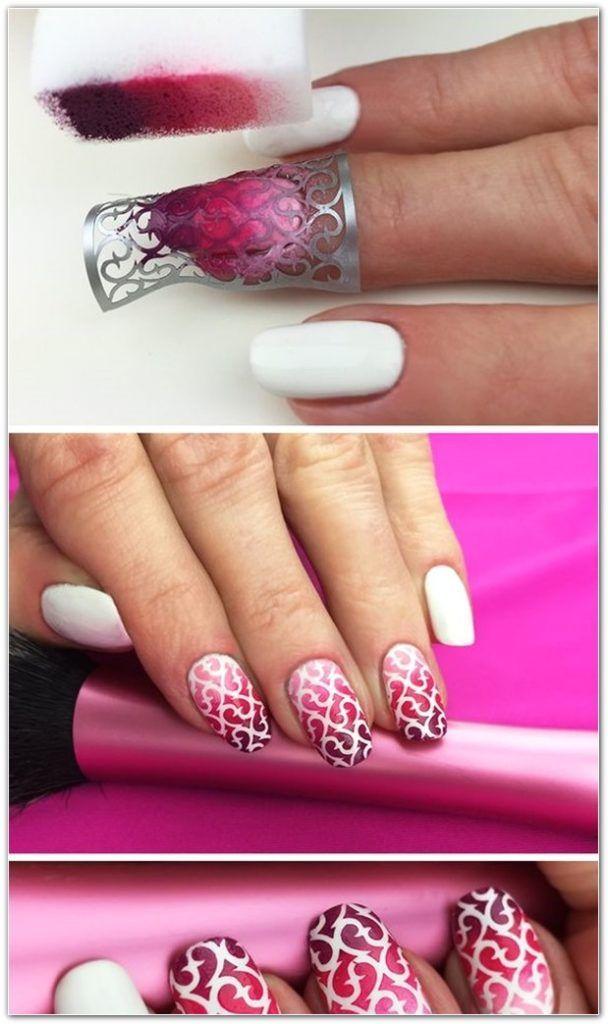 Nail Art Design for Short Nails 934