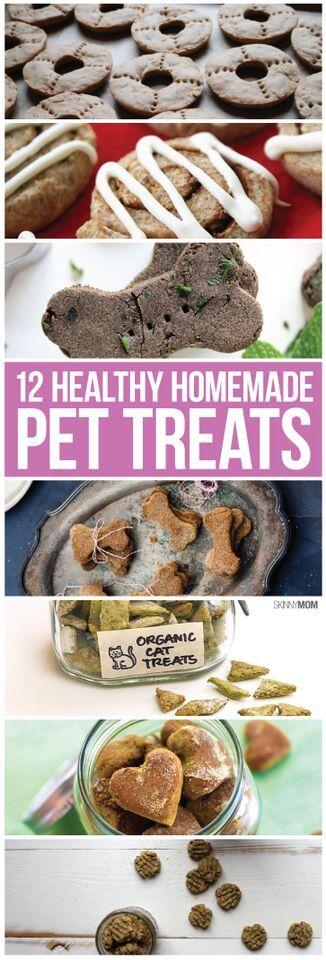Healthy pet treats you need to make, we love these! #HomemadeTreats #Pets