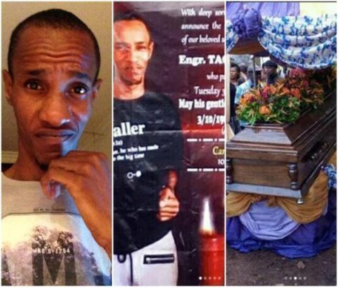Pop star, Davido's friend, Tagbo Ifeatuchukwu Umeike, who died on October 3rd from allegedly consuming too much alcohol, was laid to rest on October 20, 2017 at his home town Osumenyi in Nnewi south LGA, Anambra state.Tagbo's brother laments as Davido. Friends and loved ones were present t... #naijamusic #naija #naijafm