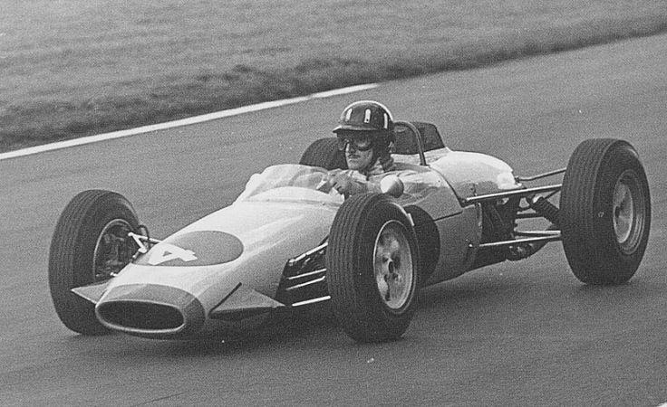 Graham Hill - Brabham BT10 Cosworth SCA - John Coombs - XI International Gold Cup 1964