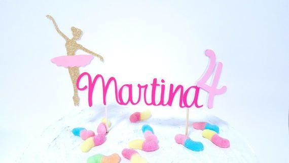 Ehi, ho trovato questa fantastica inserzione di Etsy su https://www.etsy.com/it/listing/507650178/cake-topper-happy-birthday-ballerina
