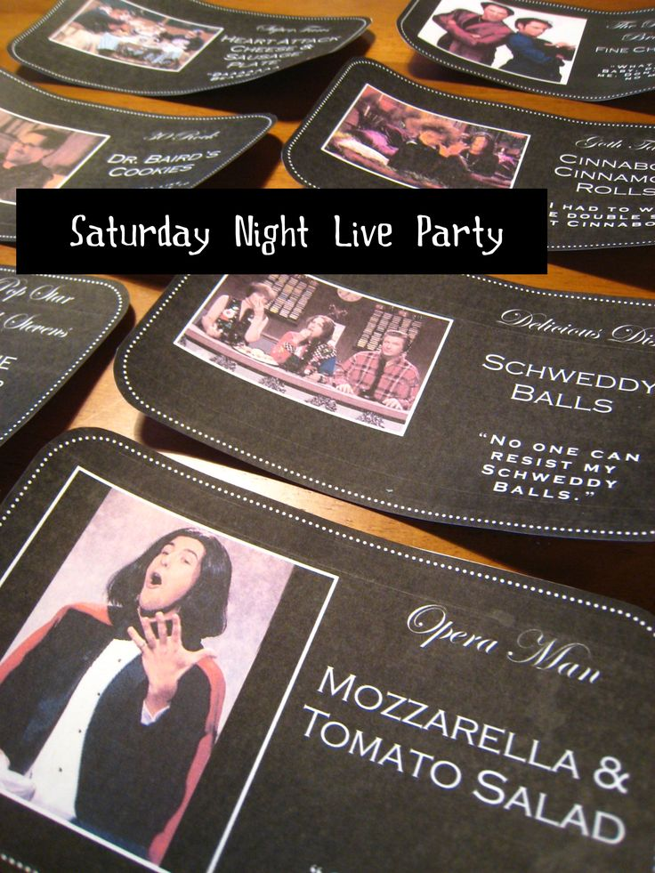saturday night live party?!