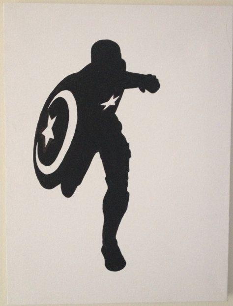 captain america silhouette - Google Search