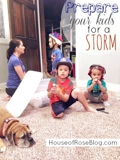 Prepare Your Kids For A Storm – What To Do In The Event Of A Tornado