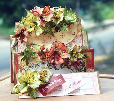 Heartfelt Creations flip fold by Anita Kejriwal