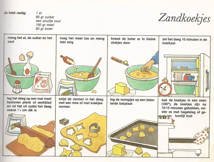 zandkoekjes maken