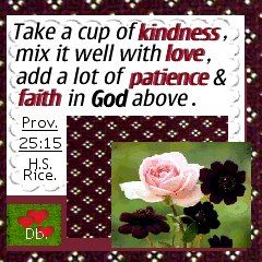 In ons hartjies virewig - Dirkie Brits: Take a cup of kindness