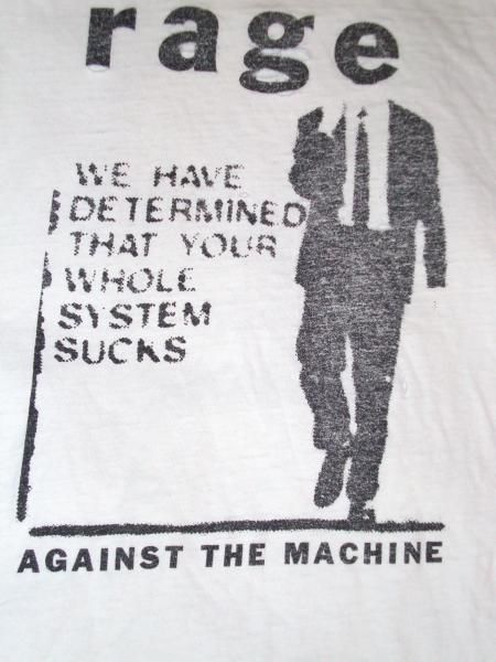 I've never really been much of a Rage Against the Machine fan but I like the vibe here.