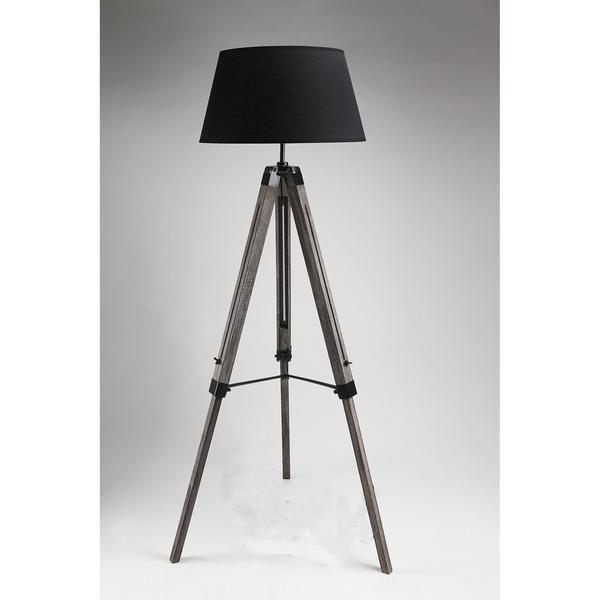 Tripod Floor Lamp - Black – Click Online Sales