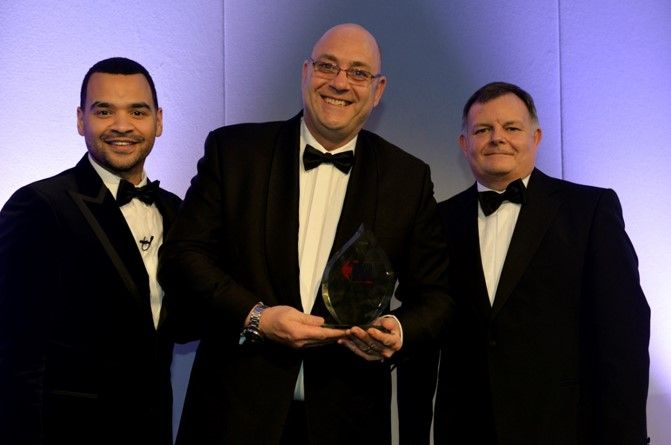 George Pringle, The Babcock Engineering Academy - Skills Champion of the Year (centre)
