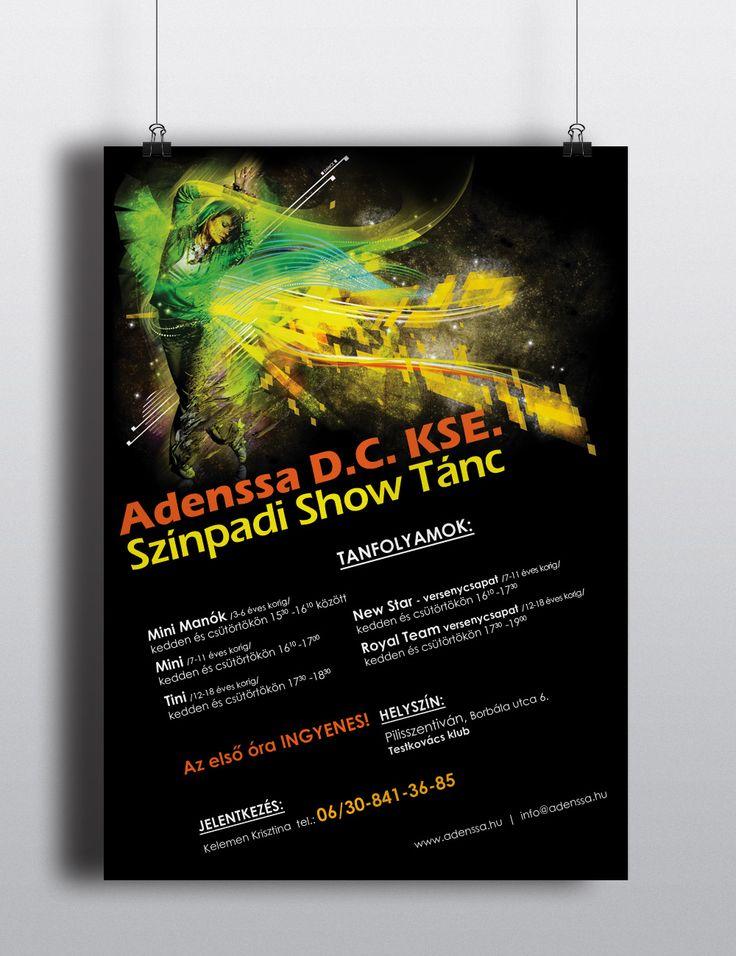 Dance school flyer