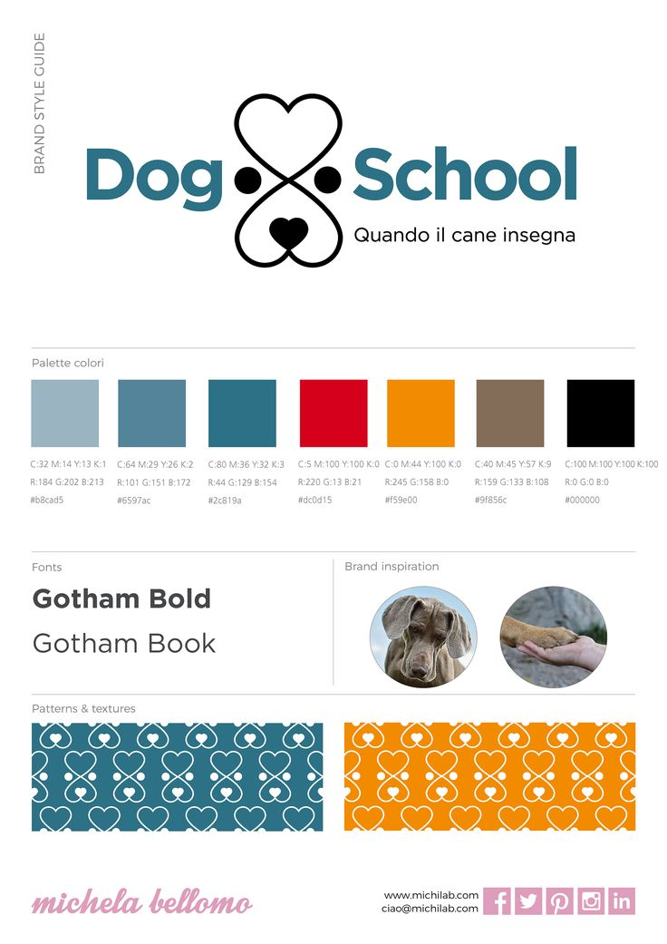 Brand style guide Dog School