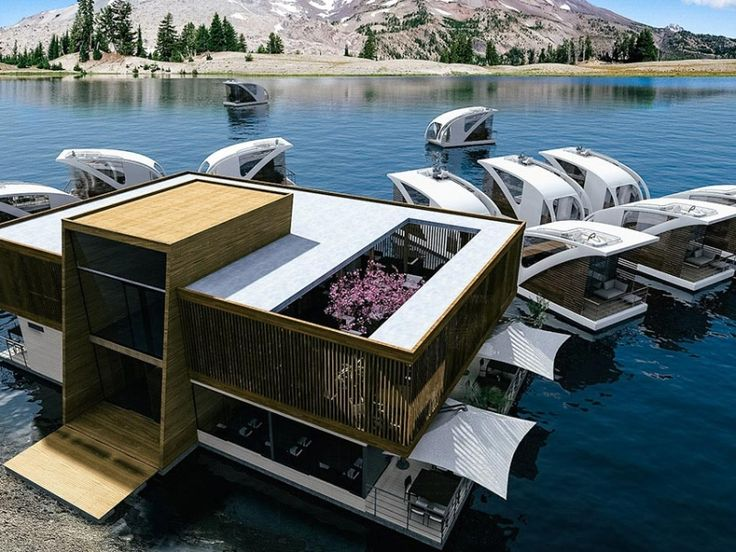 Salt water s concept of the floating hotel combines for Design hotel f 6 genf
