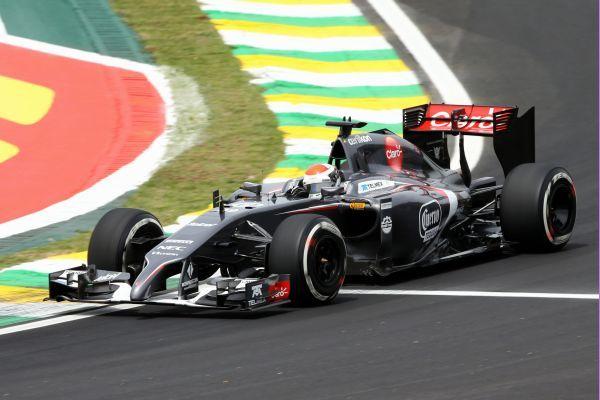 2014 GP Brazylii (Adrian Sutil) Sauber C33 - Ferrari