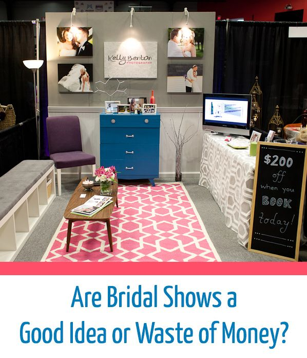 Are Bridal Shows a Good Idea or Waste of Money? (via The Modern Tog)