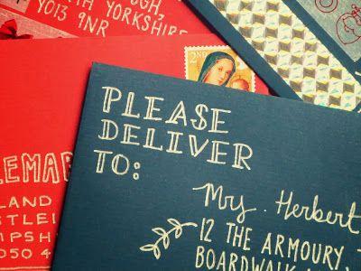 envelope addressing #envelope #handlettering