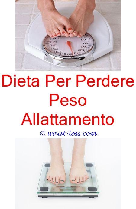 dieta allattamento perdere peso