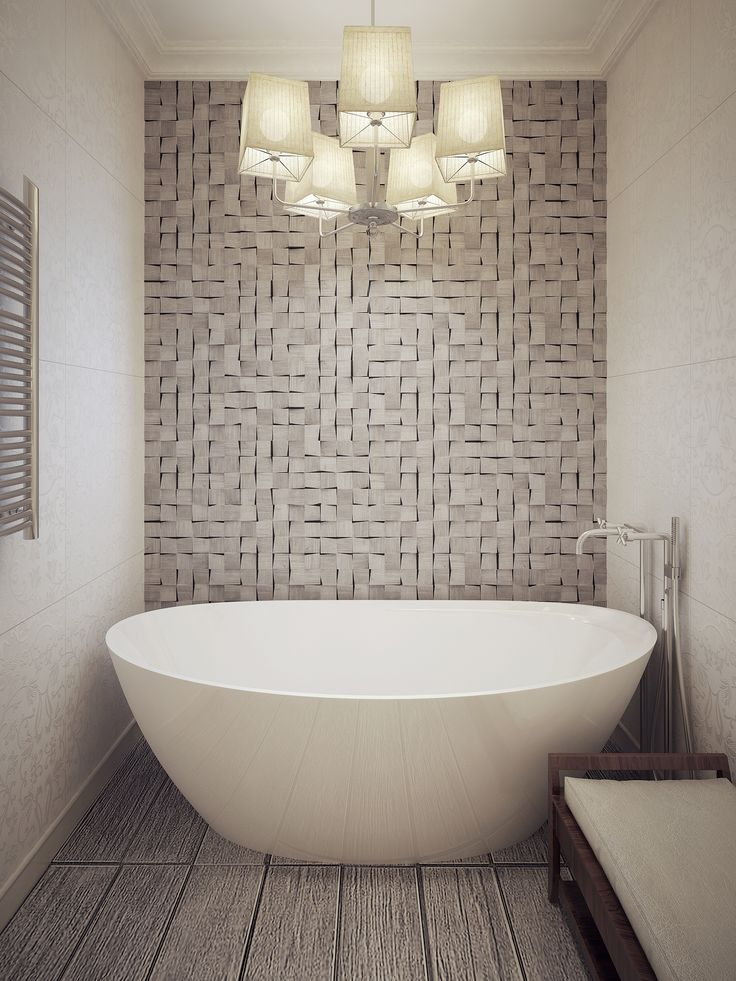 How To Accessorize Around Your Freestanding Tub. Small Bathroom ...