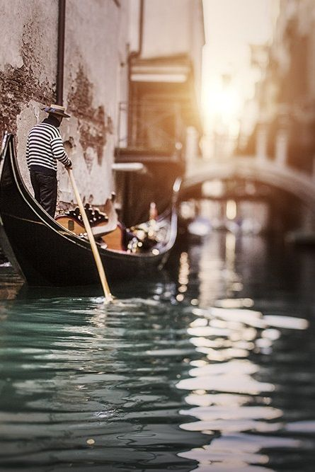 I've been on a gondola in Venice, Italy. We bought a mask. Now I need to go back and be less touristy.