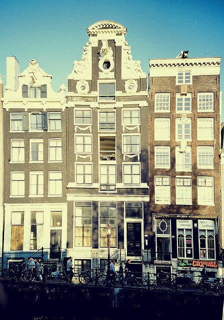 Amsterdam. Canal houses