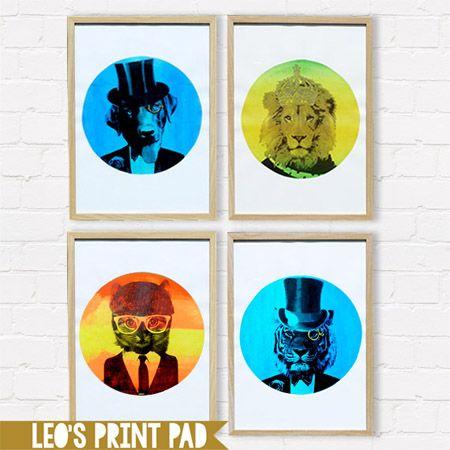 A3 Circle prints available at; etsy.com/au/shop/LeosPrintPad madeit.com.au/leosprintpad