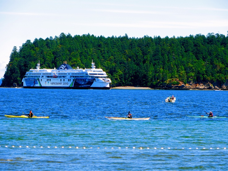 BC Ferry heading into Departure Bay in Nanaimo