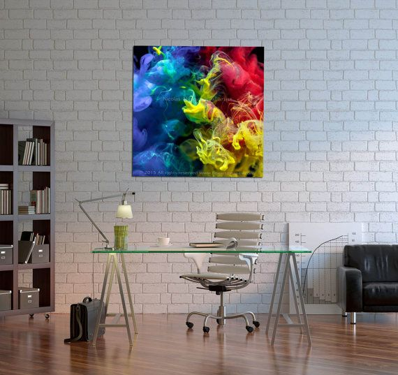 Anna S -Abstract Metal Print,Abstract Art Print,Giclee Abstract,Contemporary  Print , Large Wall Art, Colorful Abstract,Square print