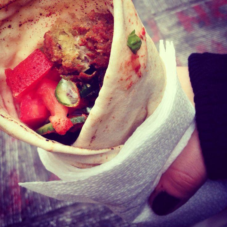 Best street food. Falafel at Falafellas in Aiolou st. Athens downtown  #athens #athensdowntown #falafellas #falafel #streetfood