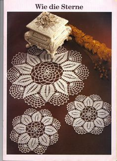 1000 ideas about crochet lace edging on pinterest - Tris uncinetto camera da letto schemi ...