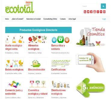 Portal de productos ecológicos dónde podrá comprar y vender online productos orgánicos, Consulte nuestros catálogos de precios y tiendas