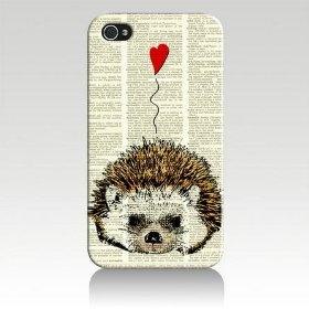 Hedgehog Love Case