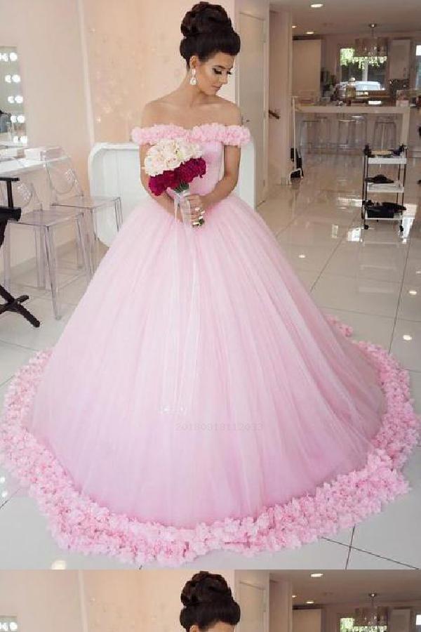 a11ce3d09a Hot Sale Substantial Wedding Dresses Ball Gown, Wedding Dresses Pink ...