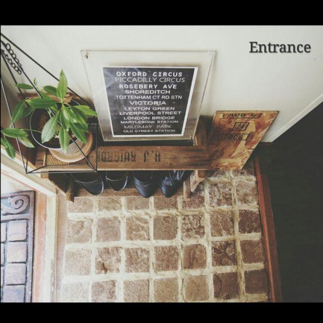 レンガ/レンガはモルタルで♡/めざせN.Yブロッコリん♡/めざせN.Yブルックリン/自作ポスター…などのインテリア実例 - 2015-01-26 11:48:12 | RoomClip(ルームクリップ)