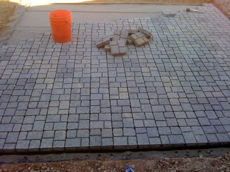 My DIY Paver Patio On The Cheap Landscaping Lawn