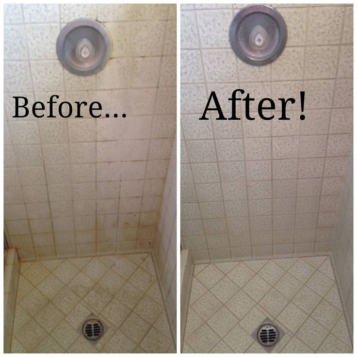 How To Clean Bathroom Tile: 28 Best Before & After Images On Pinterest