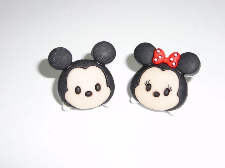 Tsum Tsum Mickey Mouse & Minnie Mouse Stud Earrings   Jewelry & Watches, Fashion Jewelry, Earrings   eBay!