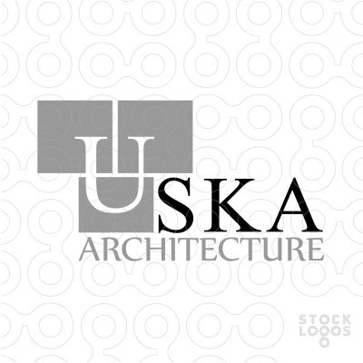 USKA Architecture - #logo #sale #construction #cube #company