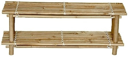 Bamboo Shelves shelf Display Shoe Rack set of 2  Great for tropical, asian, surf, zen, tiki, or beach theme decor, stores or homes.    (805) 479-Tiki (8454) M-F 9am-5pm PST or eBay user ID: TIKITOESCA or email address:  TikiToesCa@aol.com Thanks! Michele Craft.  Click on the picture to take you to order page.  Call in your order with a major credit card and mention you saw it on Pinterest and get a free gift!