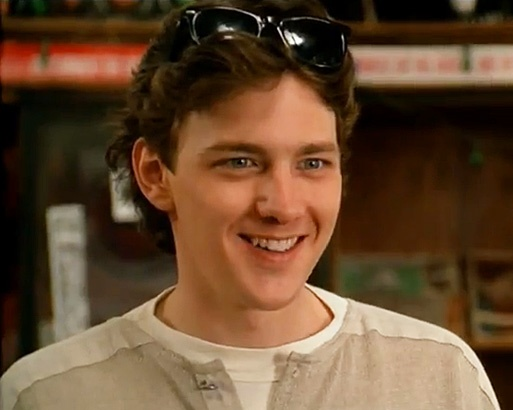 "Andrew McCarthy (aka Blaine) in the record store... in ""Pretty In Pink""... Looooove!"