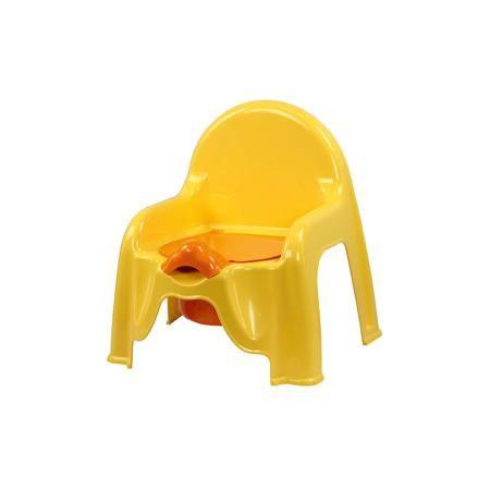 """Alternativa Горшок-стульчик , Alternativa, св.жёлтый  — 275р. -- Горшок-стульчик , Alternativa, светло-жёлтый сделан из пластика, абсолютно безопасного для детей. Горшок сделан в форме стула: спинка и два небольших подлокотника, что создаст удобство ребёнку. Горшок """"Малышок"""" отлично подойдет для того, чтобы приучить ребёнка ходить в туалет самостоятельно.   Дополнительная информация: -Размер(ДхШхВ):45,5 х11х22 см -Цвет: светло-жёлтый -Марка: Alternativa  Горшок-стульчик , Alternativa…"""