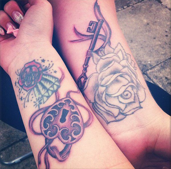 30 Key Tattoo Designs Ideas: Best 25+ Lock Key Tattoos Ideas On Pinterest