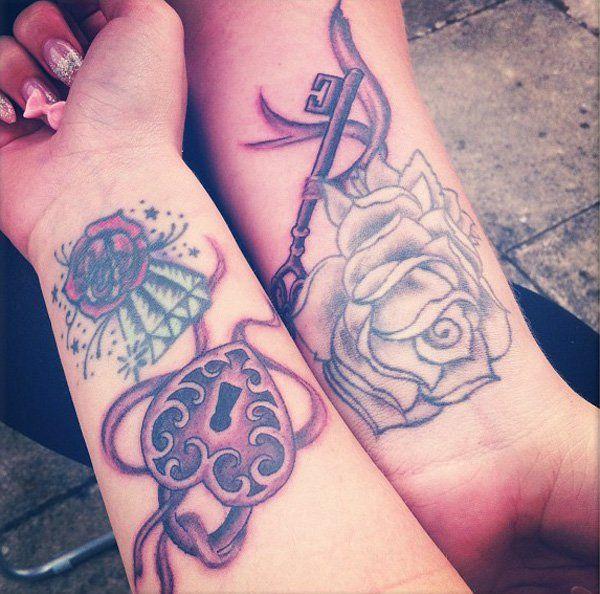 Best 25+ Lock Key Tattoos Ideas On Pinterest