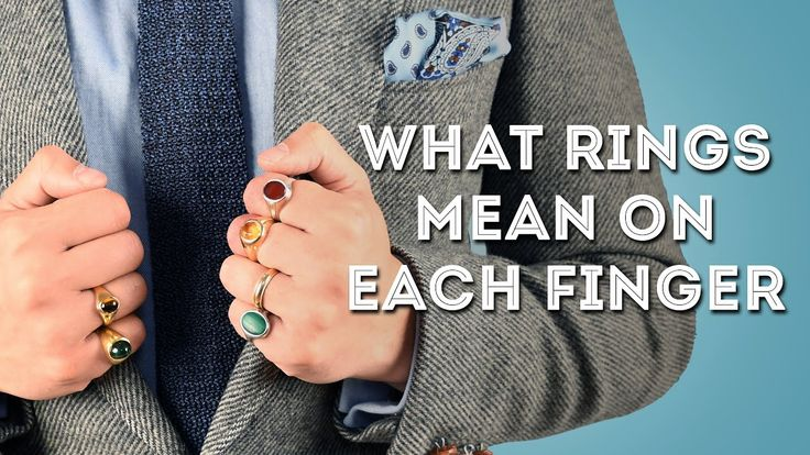 Rings & Their Meaning, Symbolism For Men - What Finger(s