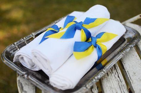 Tips på dukning och dekoration till student, nationaldag, midsommar och sommarfester_Helena Lyth