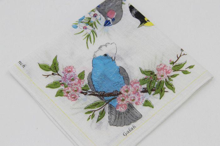 Women's Thin Handkerchiefs 28*28cm / 100% cotton wholesale / Birds printed