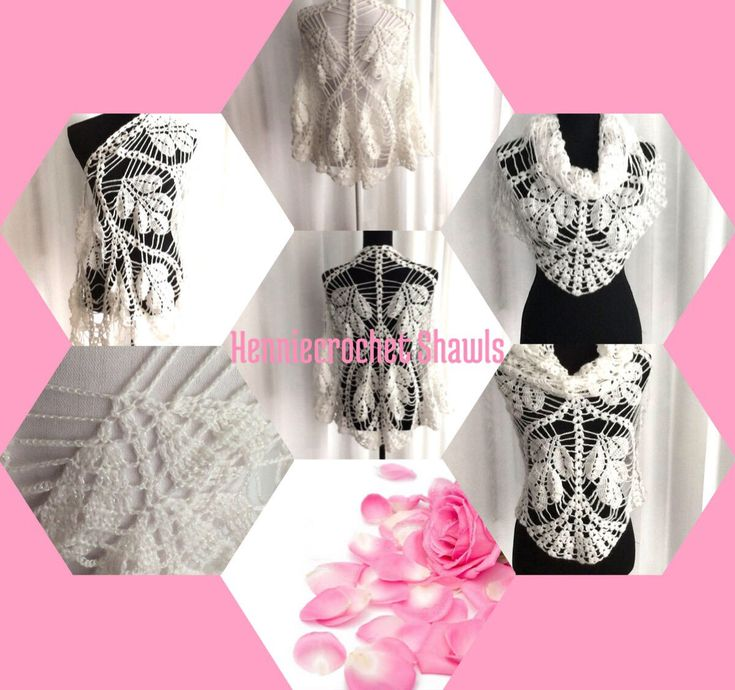 Blij om mijn nieuwste toevoeging aan mijn #etsy shop te kunnen delen: Gehaakte ( bruids) sjaal, omslagdoek, witte bolero, lace sjaal, kant gehaakt, cadeau voor dames,sjaal voor bruiloftsfeest,winter-zomer bruid