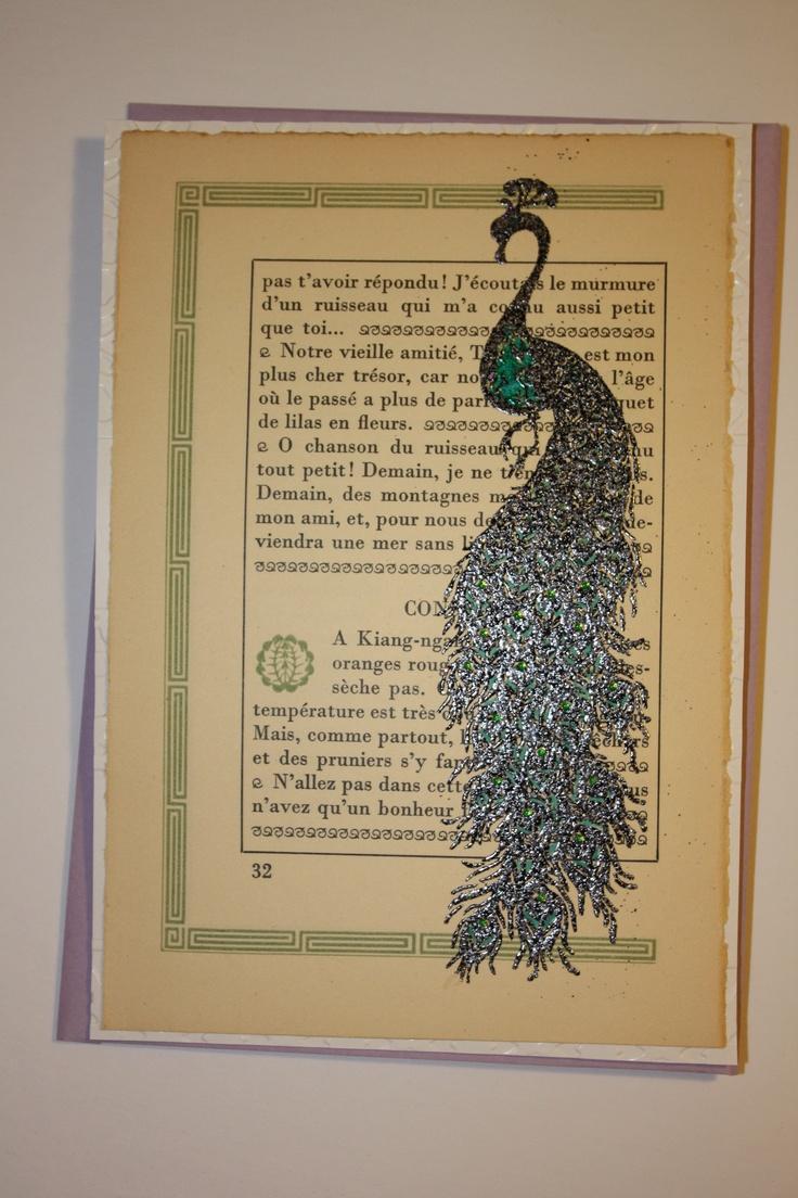 Inkadinkado papercut peacock cling 13 best Peacock